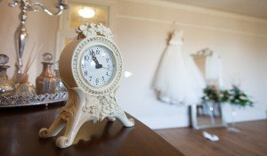 Bridal Room clock in foreground gown Room pic 67