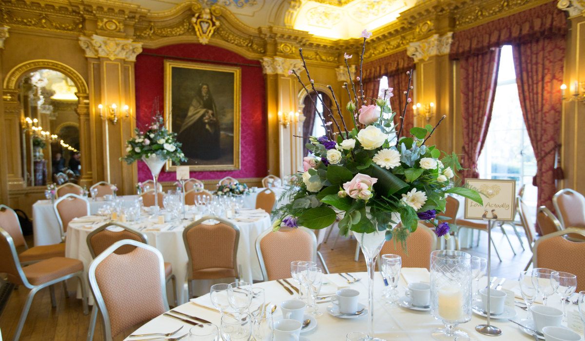 Hylands Estate Wedding Banqueting Room