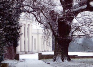 hylands house winter image